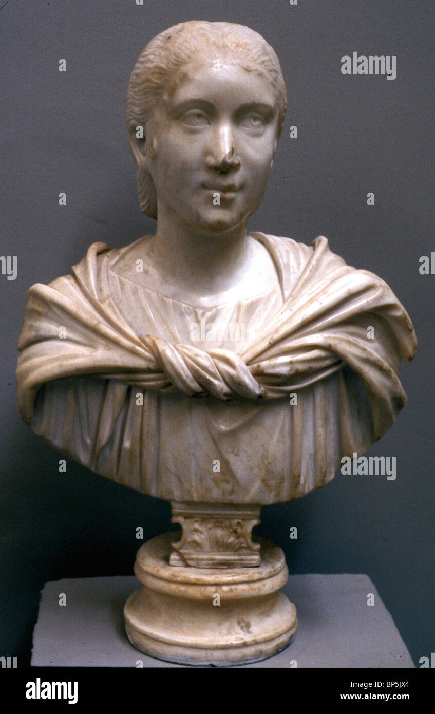 4332. ROMAN LADY, JULIA PAULA - Stock Image