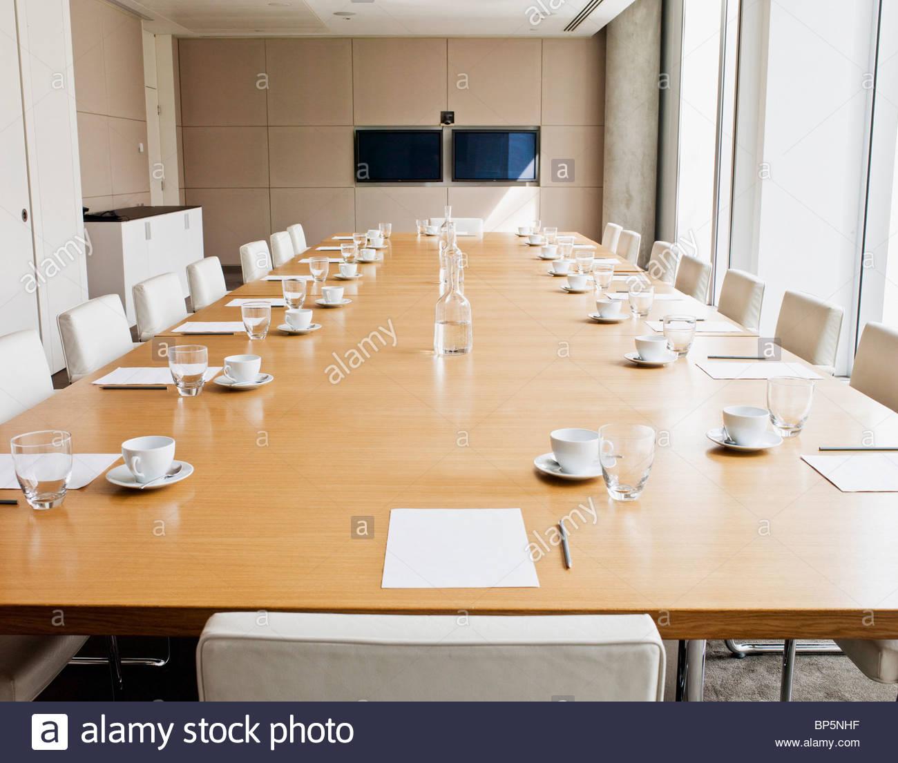Board Room Set Up