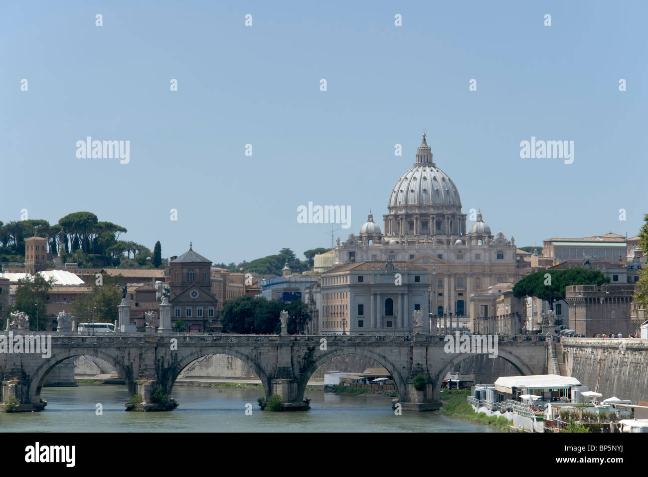 View of the Vatican - Stock Image