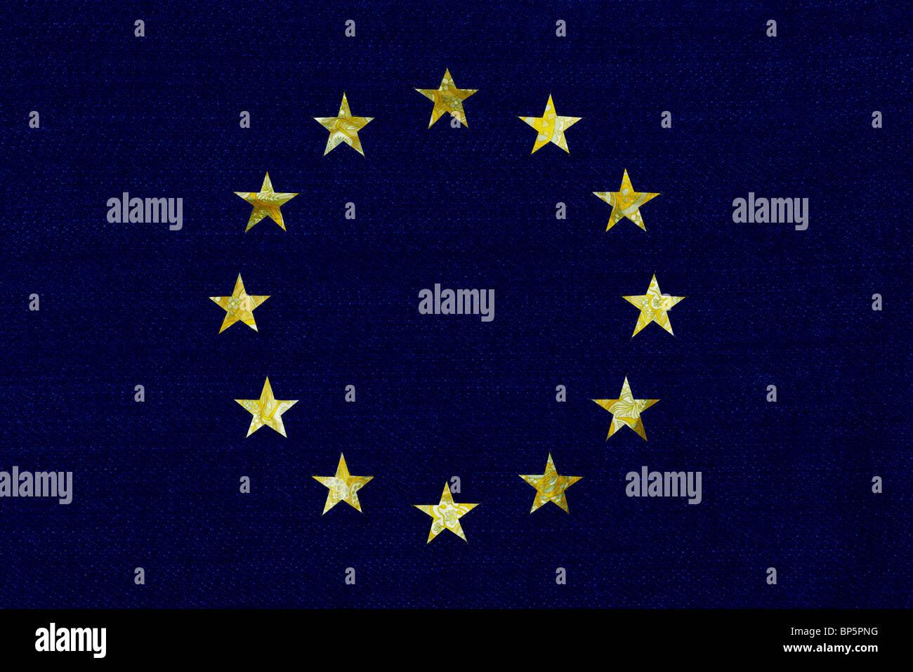 European Union logo - Stock Image