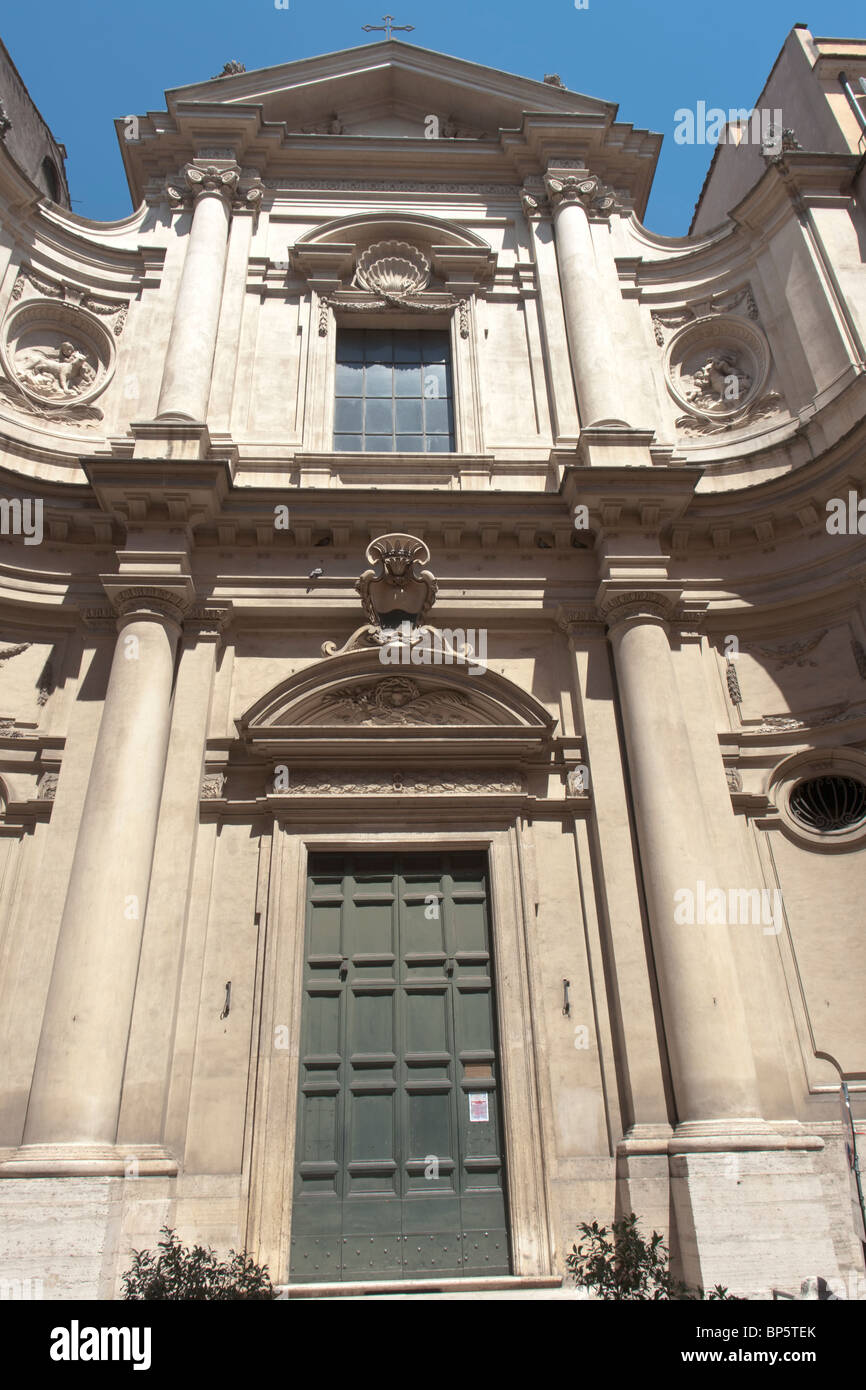 Church Santa Caterina da Siena - Stock Image