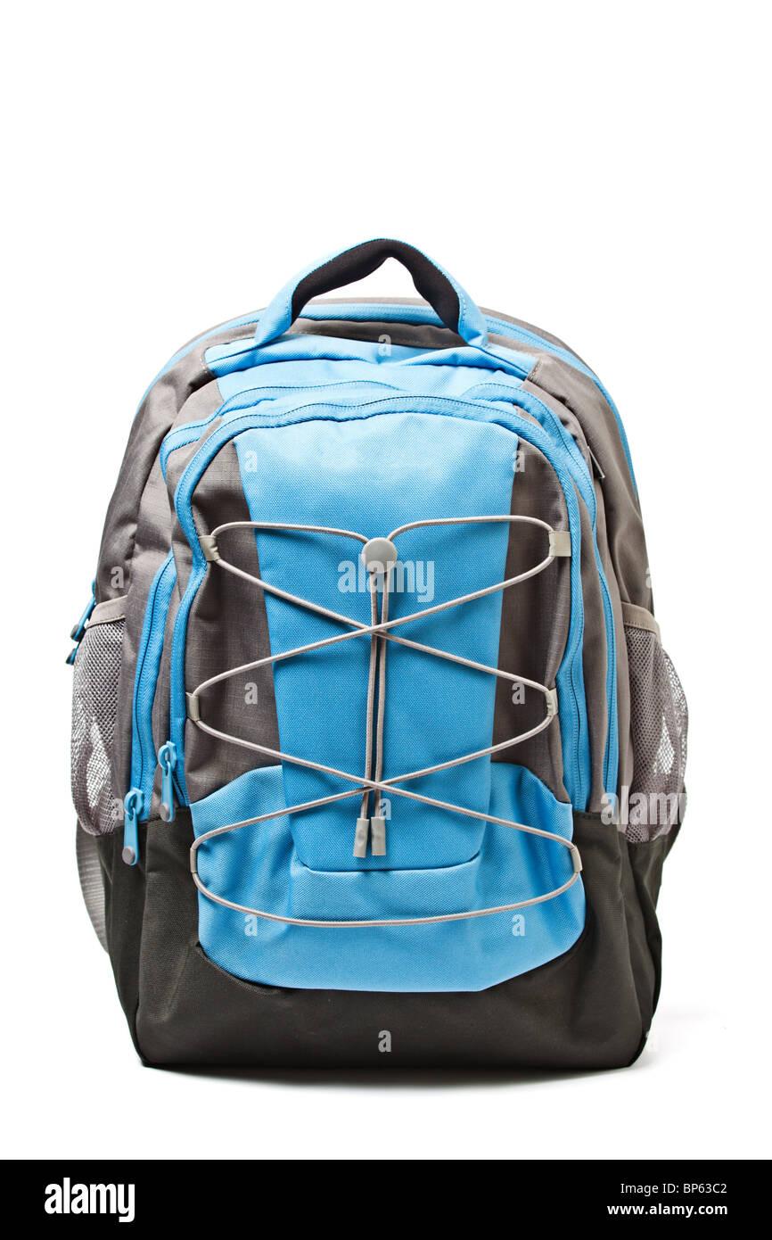 Backpack isolated on white background - Stock Image