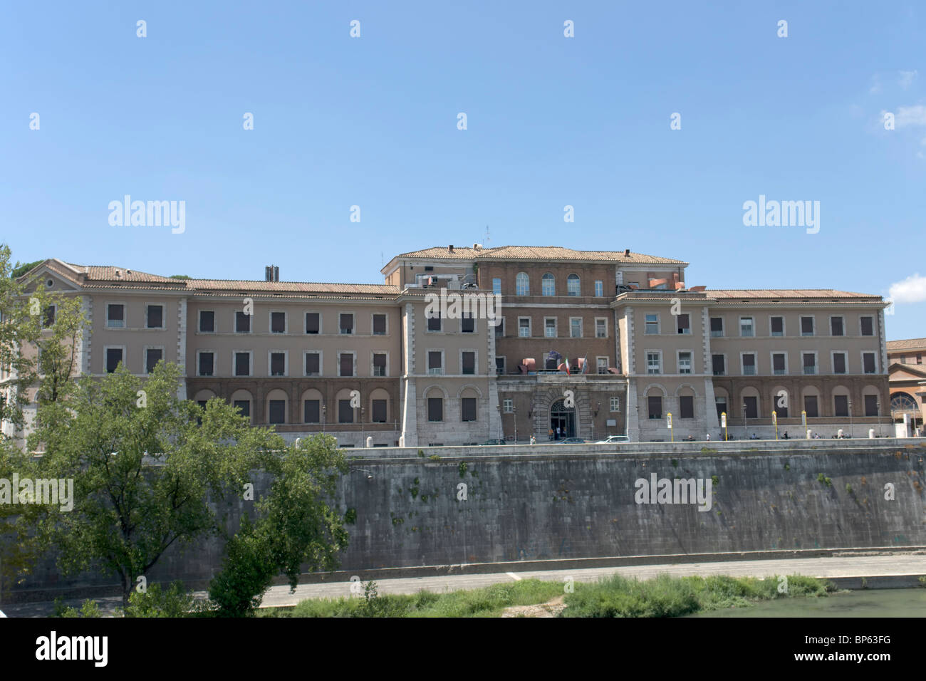 Ospedale nuovo di Santo Spirito - Stock Image