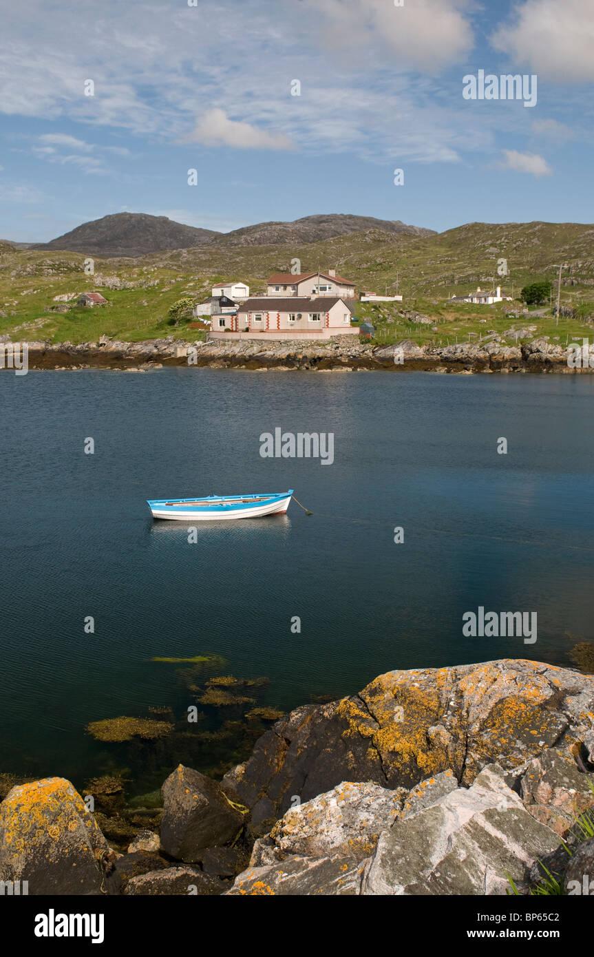 Geocrab on the Isle of Harris, Western Isles, Scotland.  SCO 6319 Stock Photo
