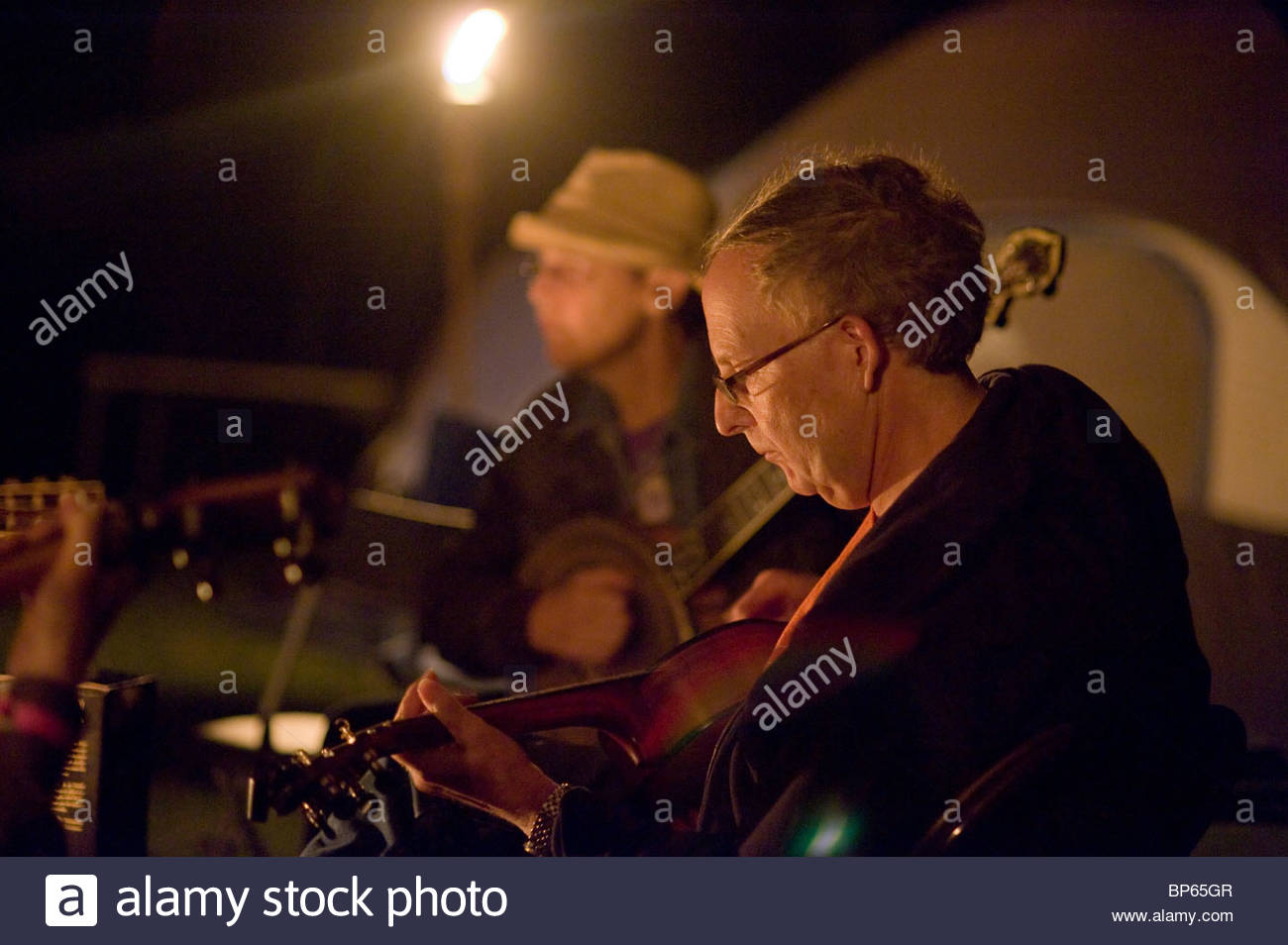 Appalachian String Band music festival, Clifftop, West Virginia - Stock Image