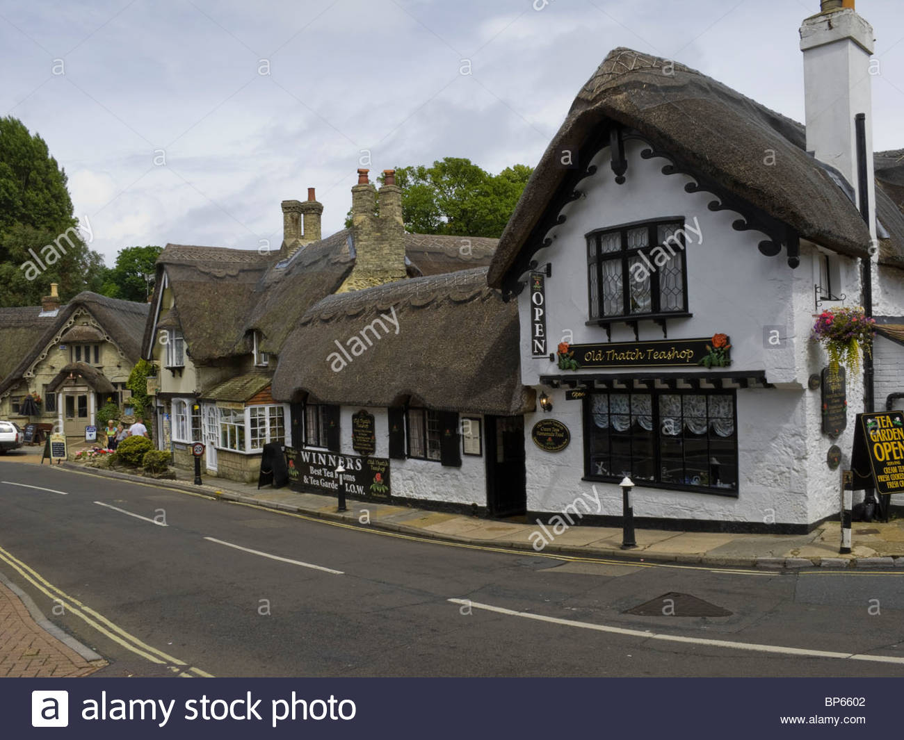 Isl of Wight Shanklin Tea Rooms - Stock Image