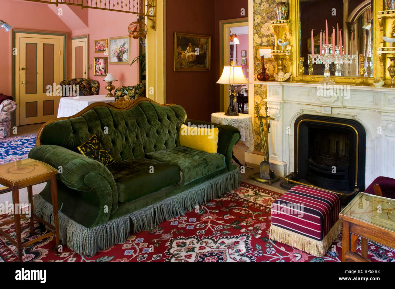 Victorian Sitting Room High Resolution Stock Photography And Images Alamy