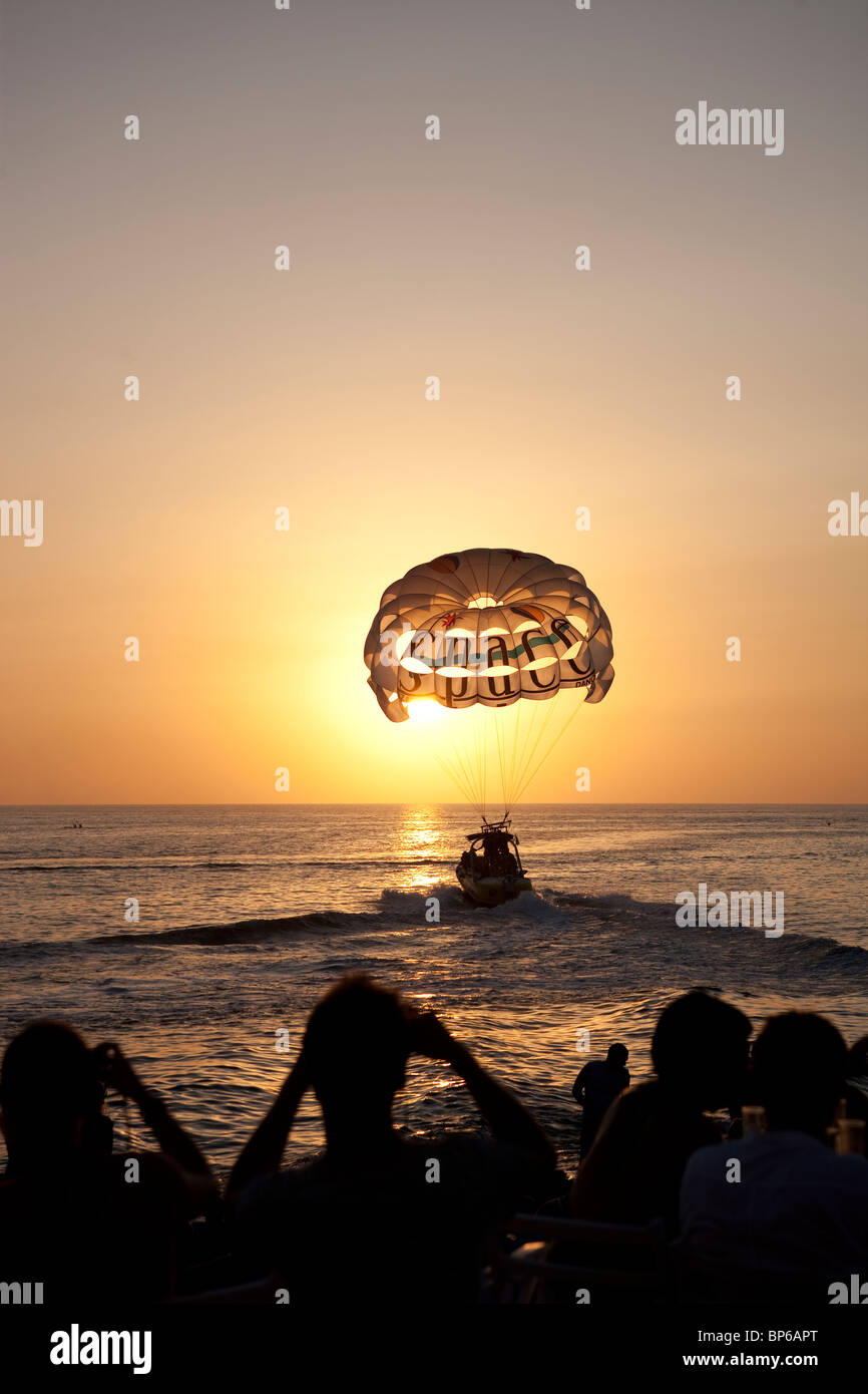 Cafe del Mar in Ibiza, Spain - Stock Image