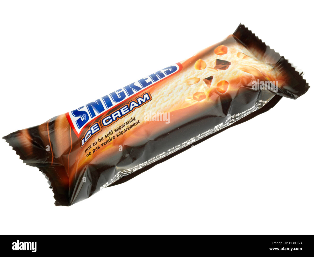 Snickers Ice Cream - Stock Image
