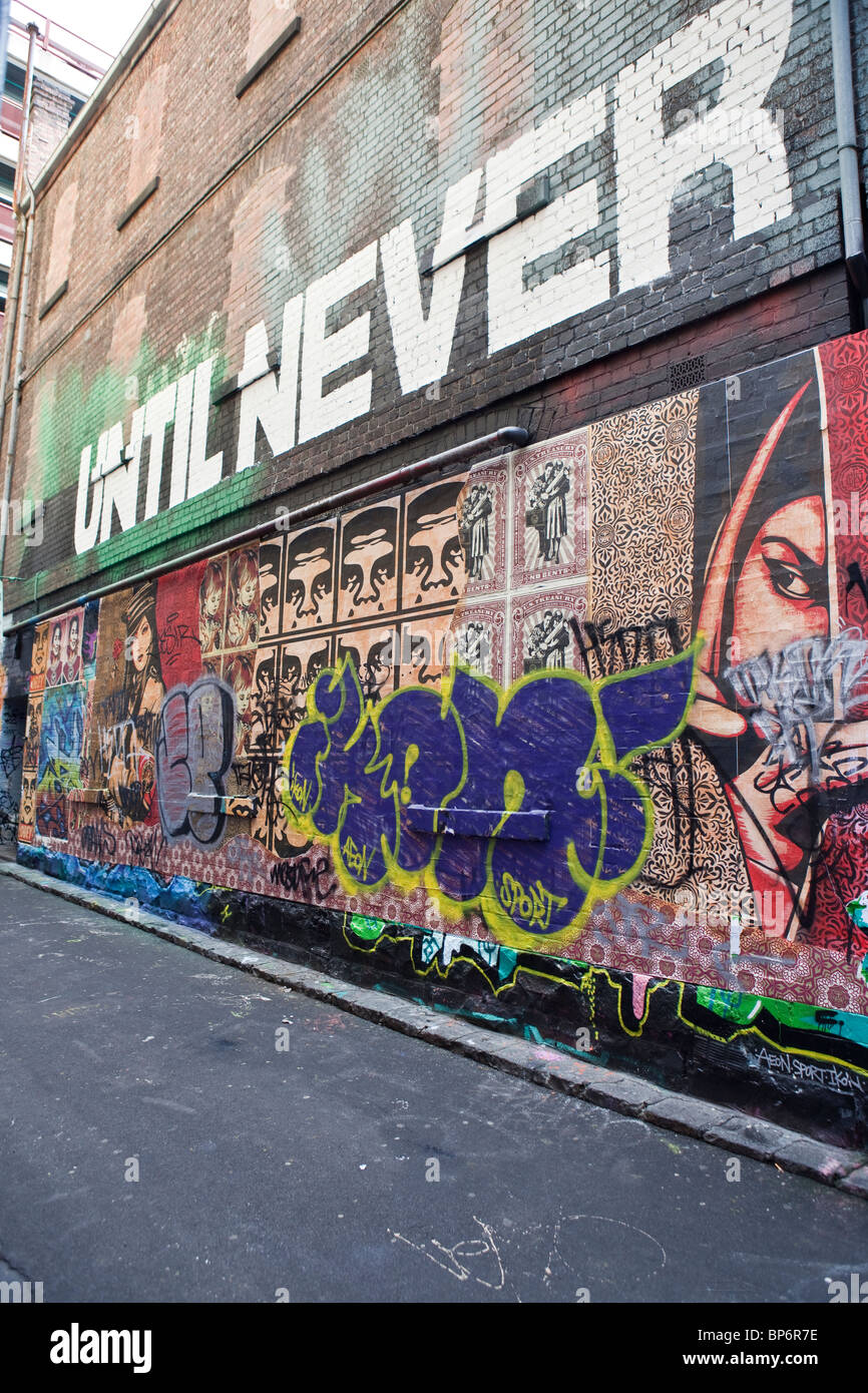 Until Never Gallery, Melbourne - Stock Image