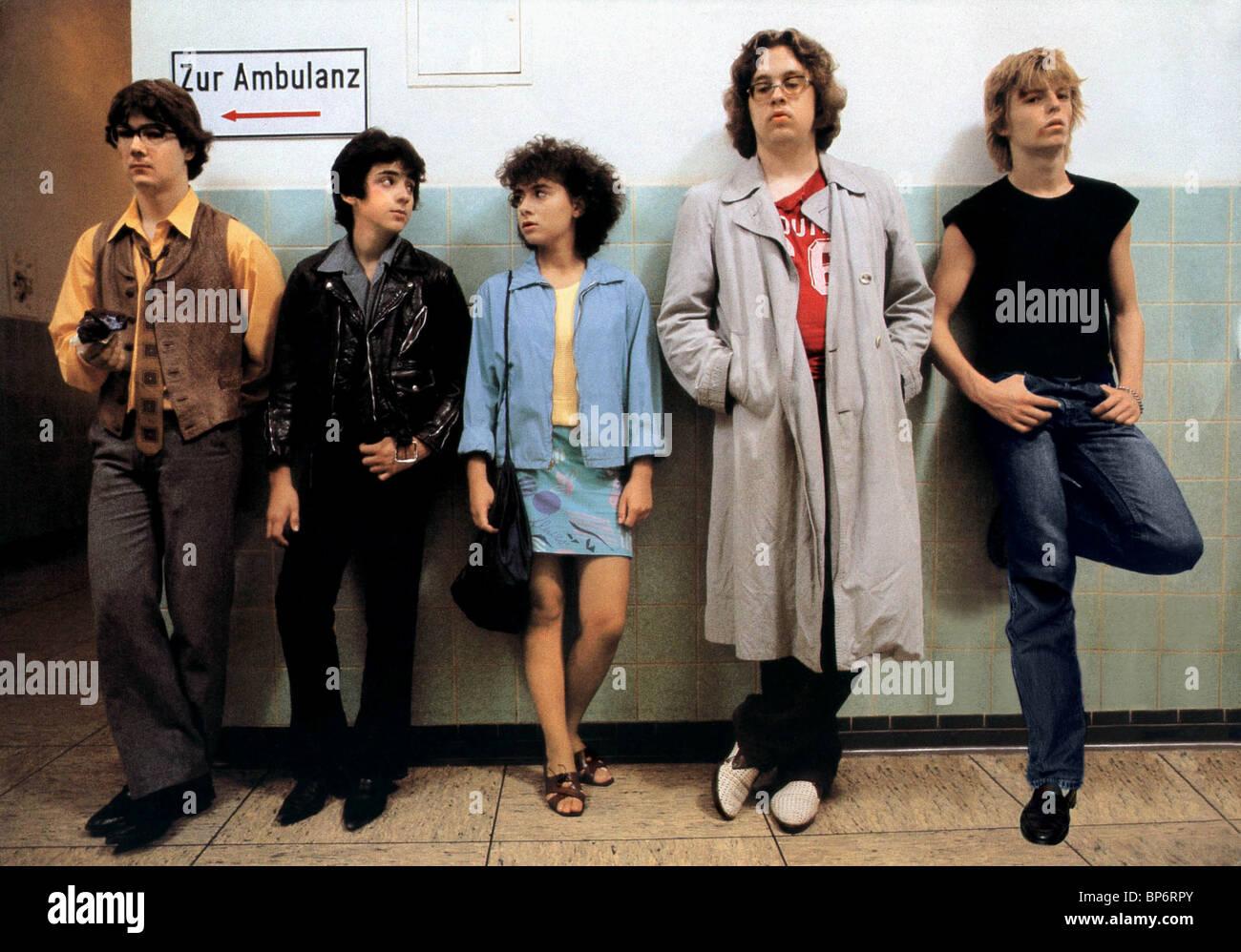 HARTMUT ISSELHORST, MICHAEL KLEIN, MARY KETIKIDO, MARK EICHENSEHER, SASCHA DISSELKAMP, THE HEARTBREAKERS, 1983 - Stock Image