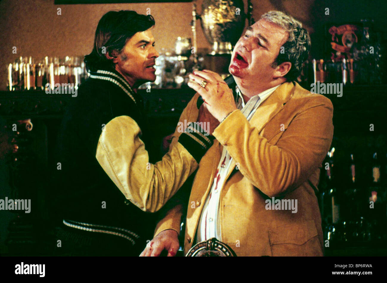 ROBERT URICH & HOYT AXTON ENDANGERED SPECIES (1982) - Stock Image