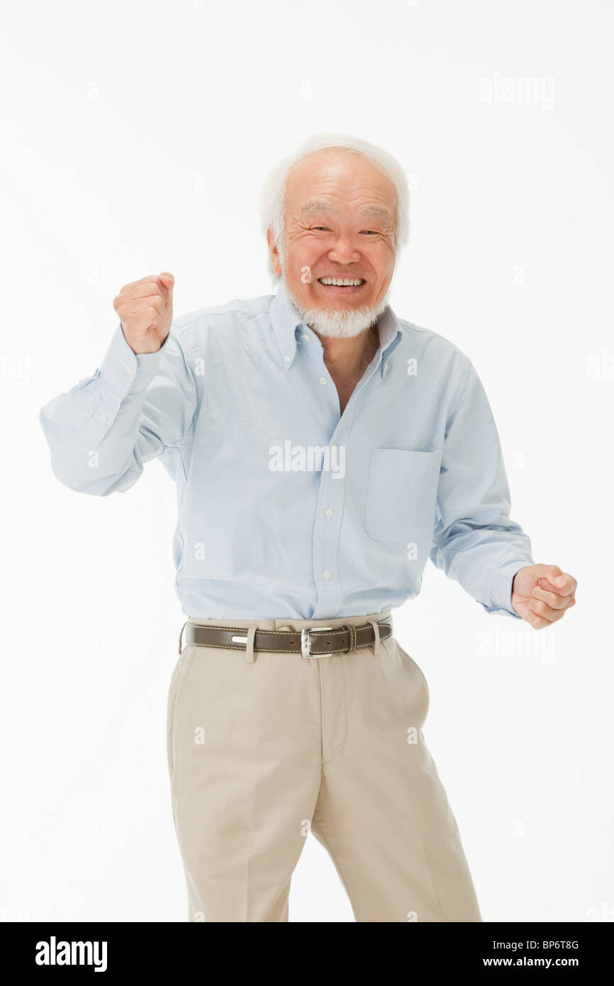 Portrait of Senior Man - Stock Image