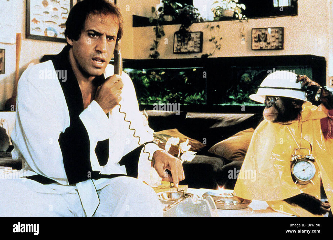 Adriano Celentano Chimp Bingo Bongo 1982 Stock Photo 30883588