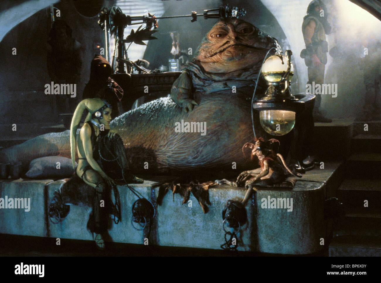 FEMI TAYLOR & JABBA THE HUT STAR WARS: RETURN OF THE JEDI ... Jabba The Hutt And Oola