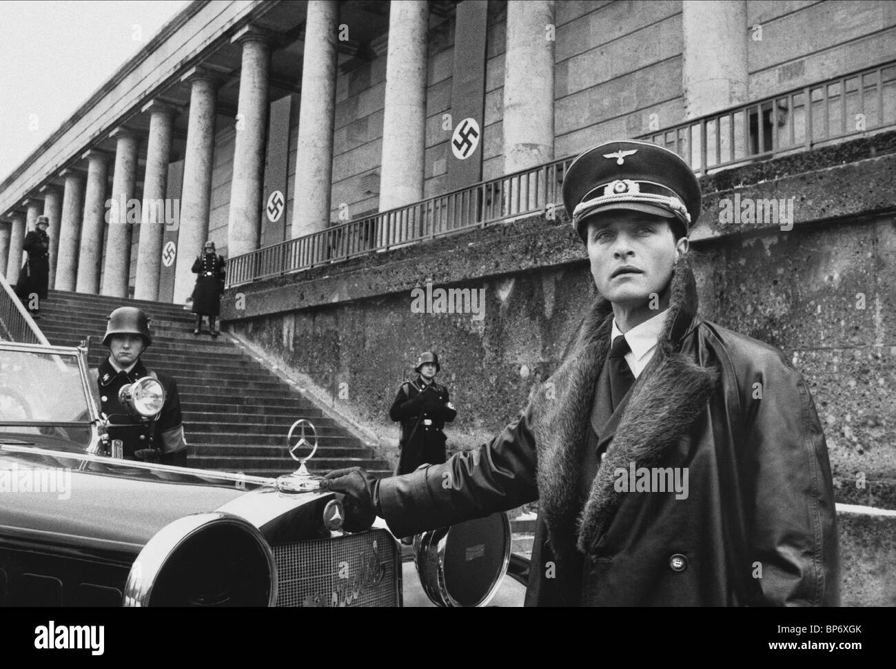 RUTGER HAUER INSIDE THE THIRD REICH (1982) Stock Photo