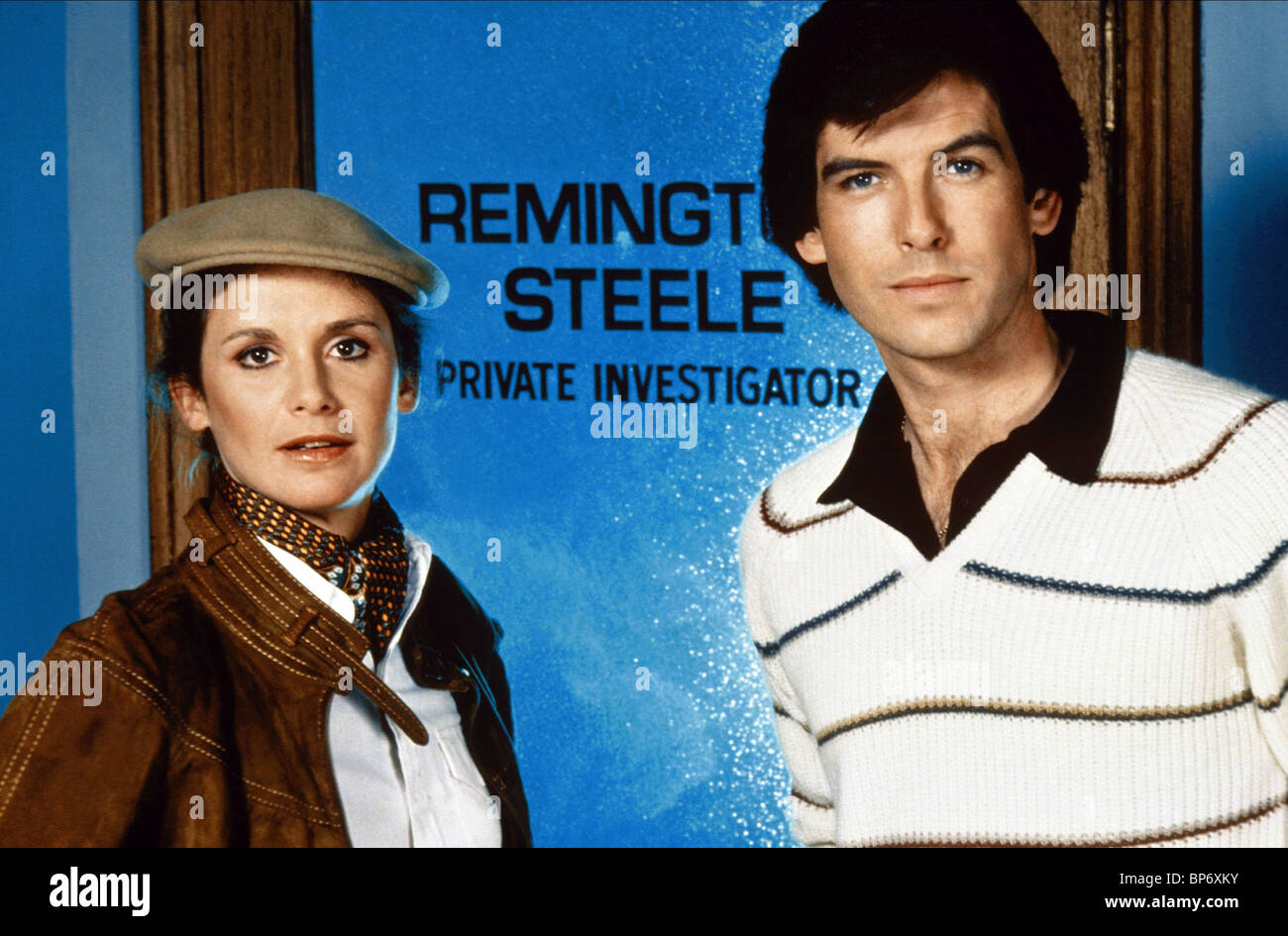 STEPHANIE ZIMBALIST & PIERCE BROSNAN REMINGTON STEELE (1982 Stock ...