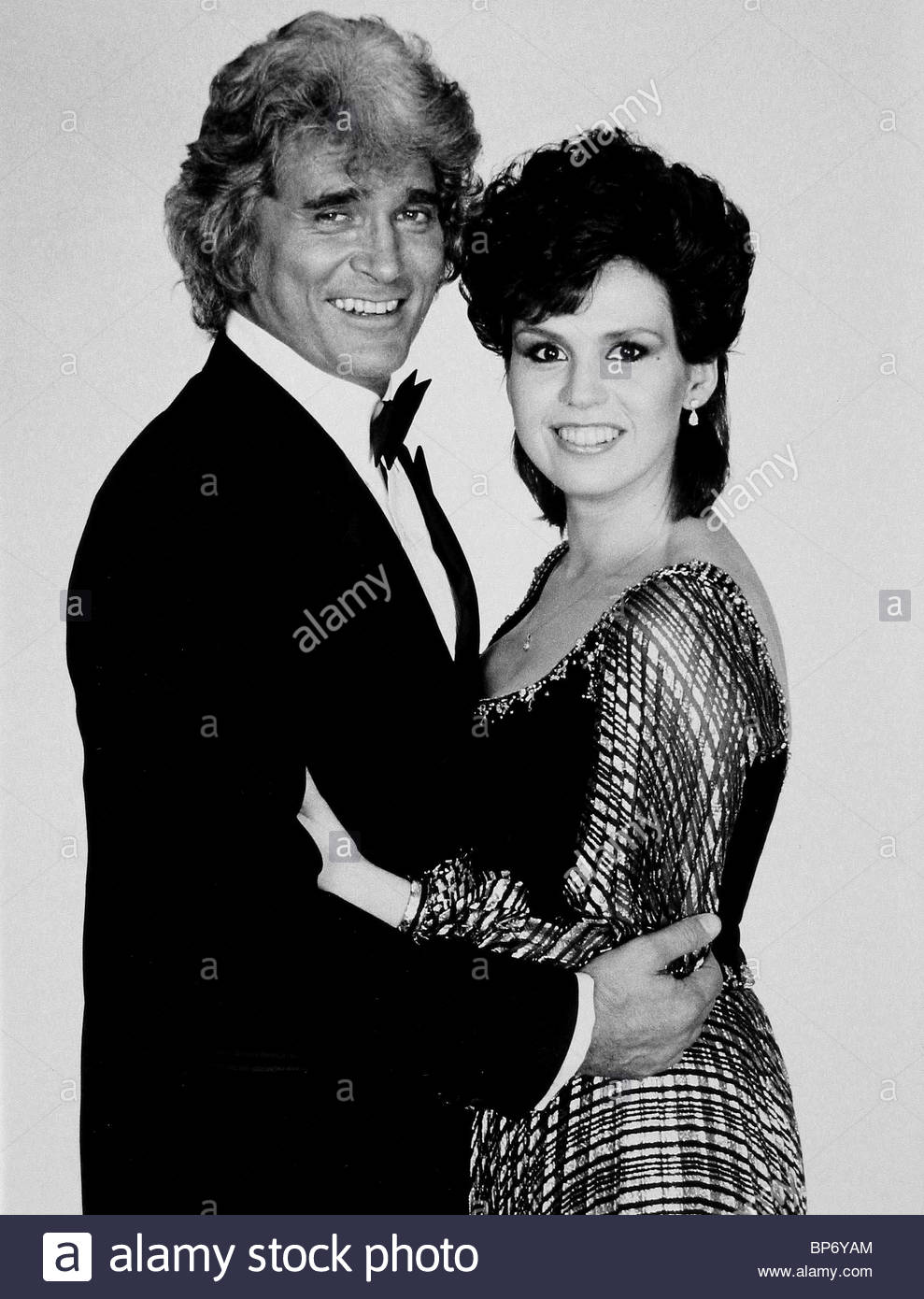 MICHAEL LANDON MARIE OSMOND HERE'S TELEVISION ENT. (1983) - Stock Image