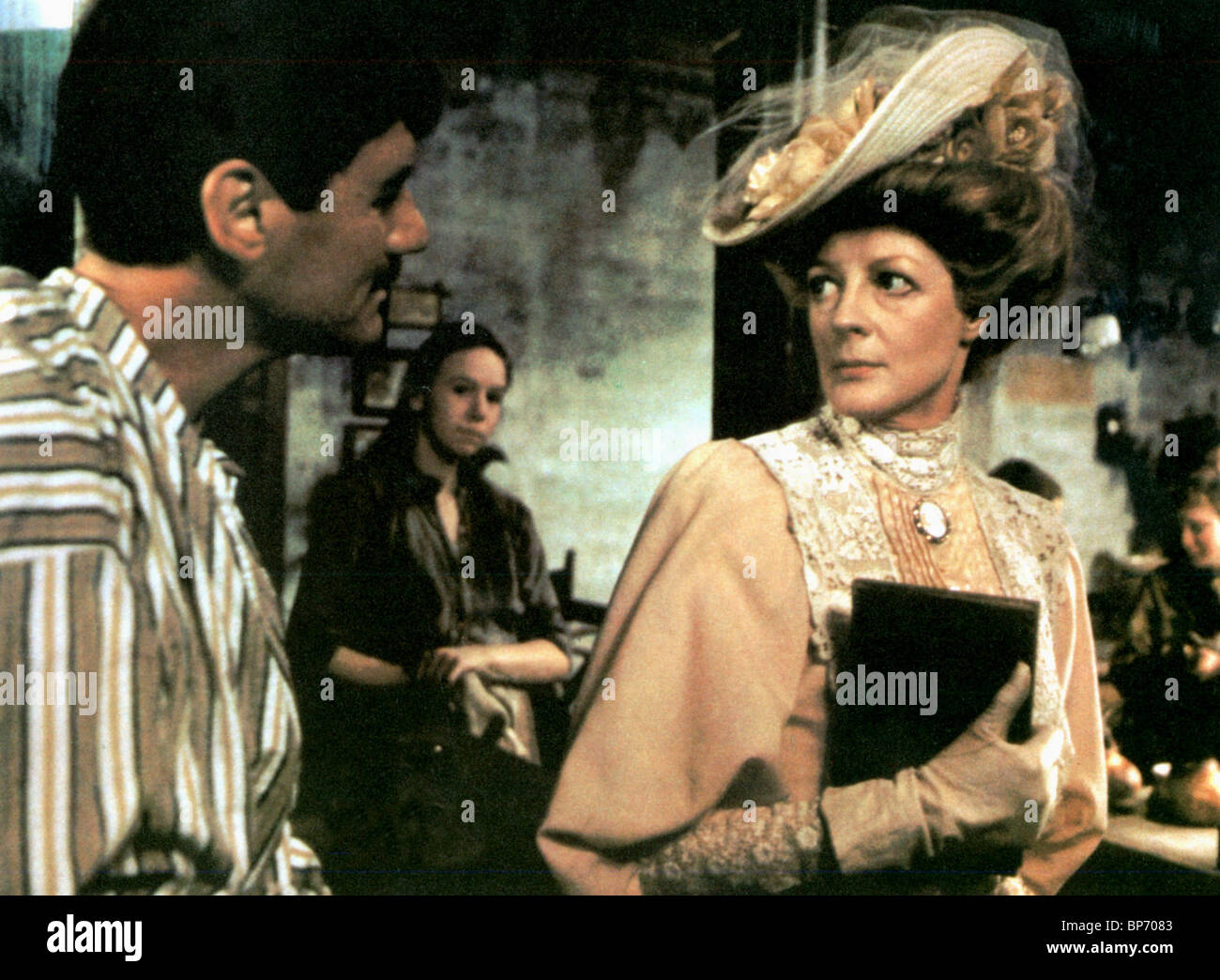 MICHAEL PALIN, MAGGIE SMITH, THE MISSIONARY, 1982 - Stock Image