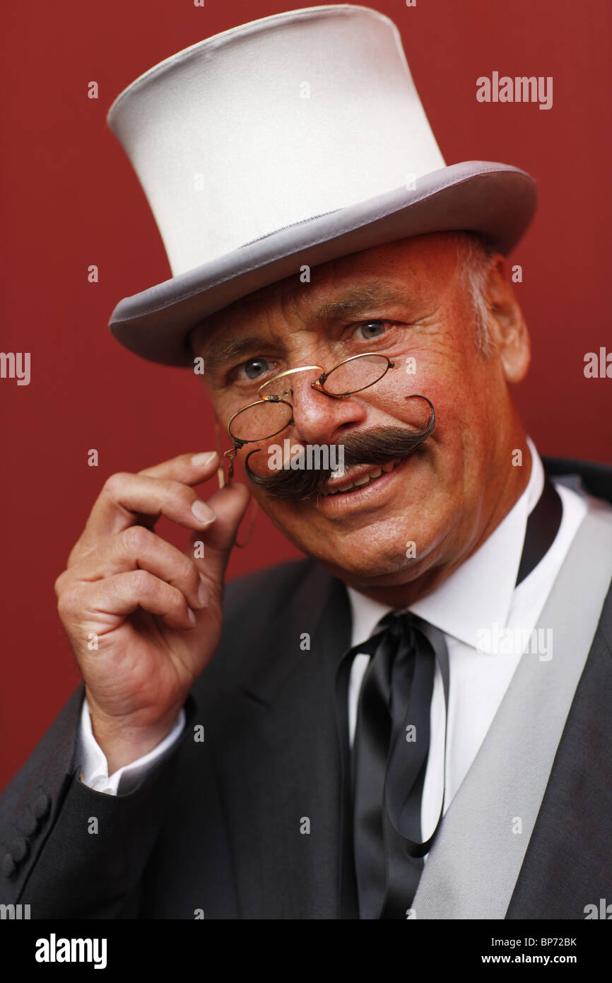 Germany, 20100806, man with a suit © Gerhard Leber - Stock Image