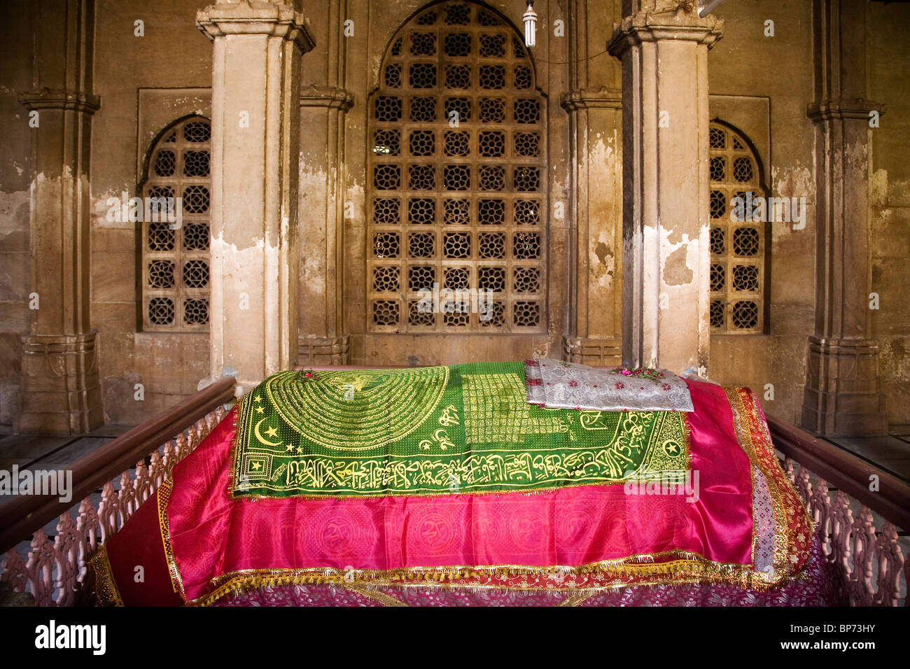 The Mausoleum of Sultan Ahmed Shah in Ahmedabad, Gujarat, India. - Stock Image