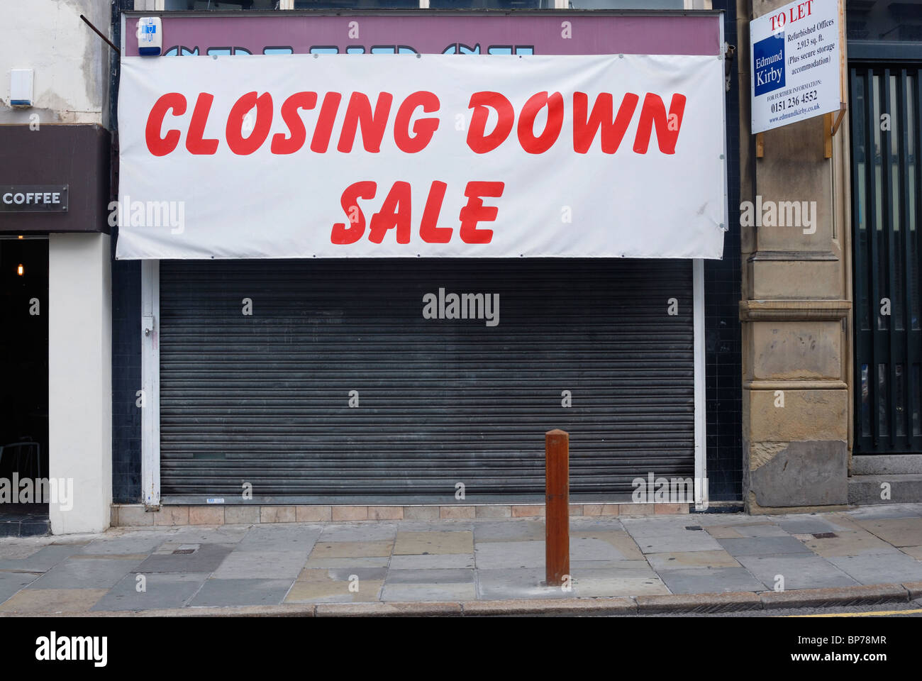ac5cbb7e138e Shop in Bold Street in Liverpool closed after it s closing down sale ...
