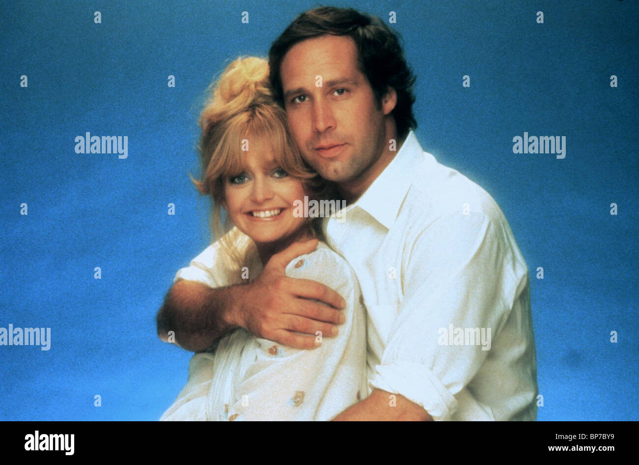 GOLDIE HAWN CHEVY CHASE SEEMS LIKE OLD TIMES 1980 Stock Photo