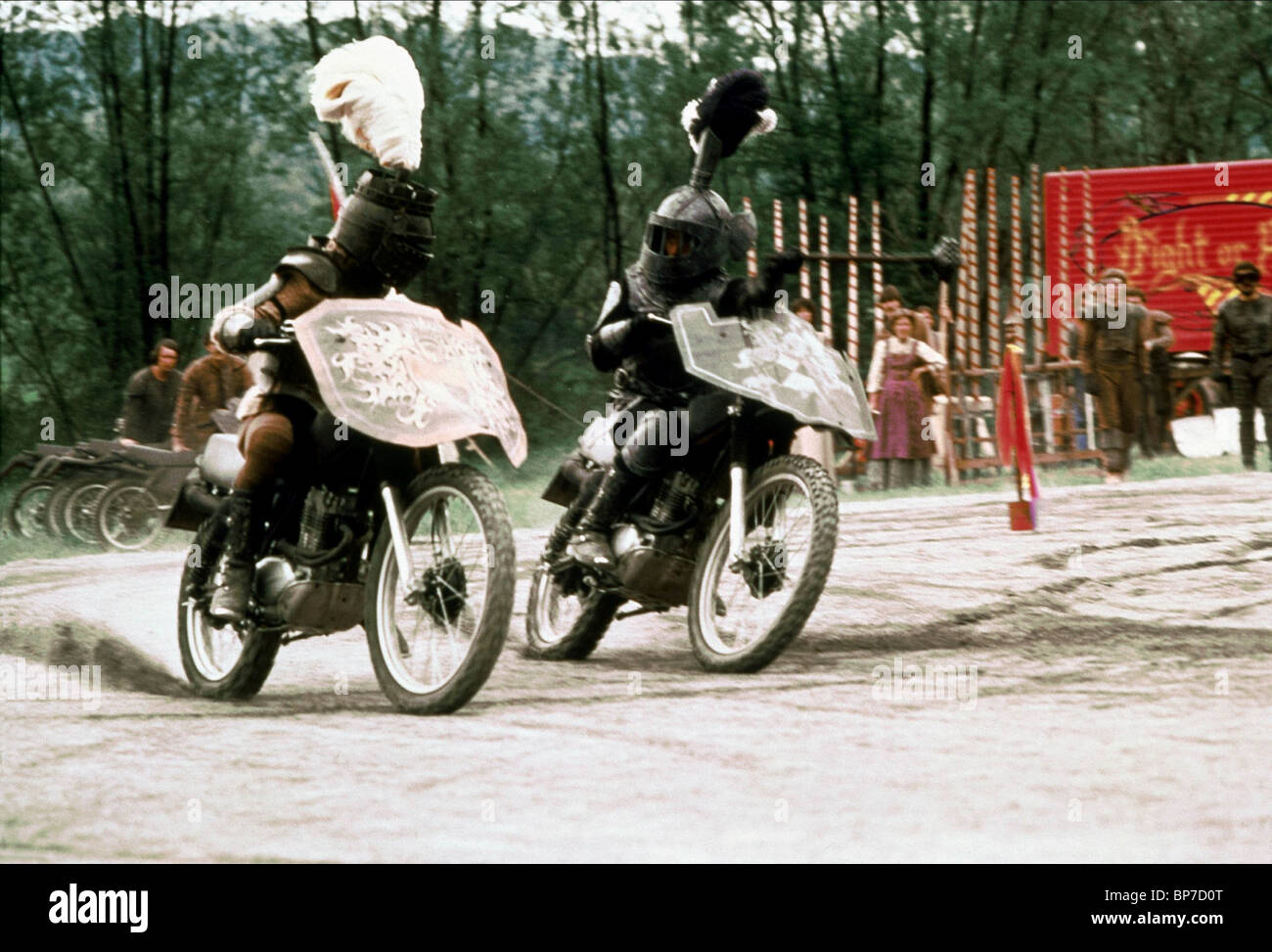 MOTOR CYCLE DUELL KNIGHTRIDERS (1981) - Stock Image