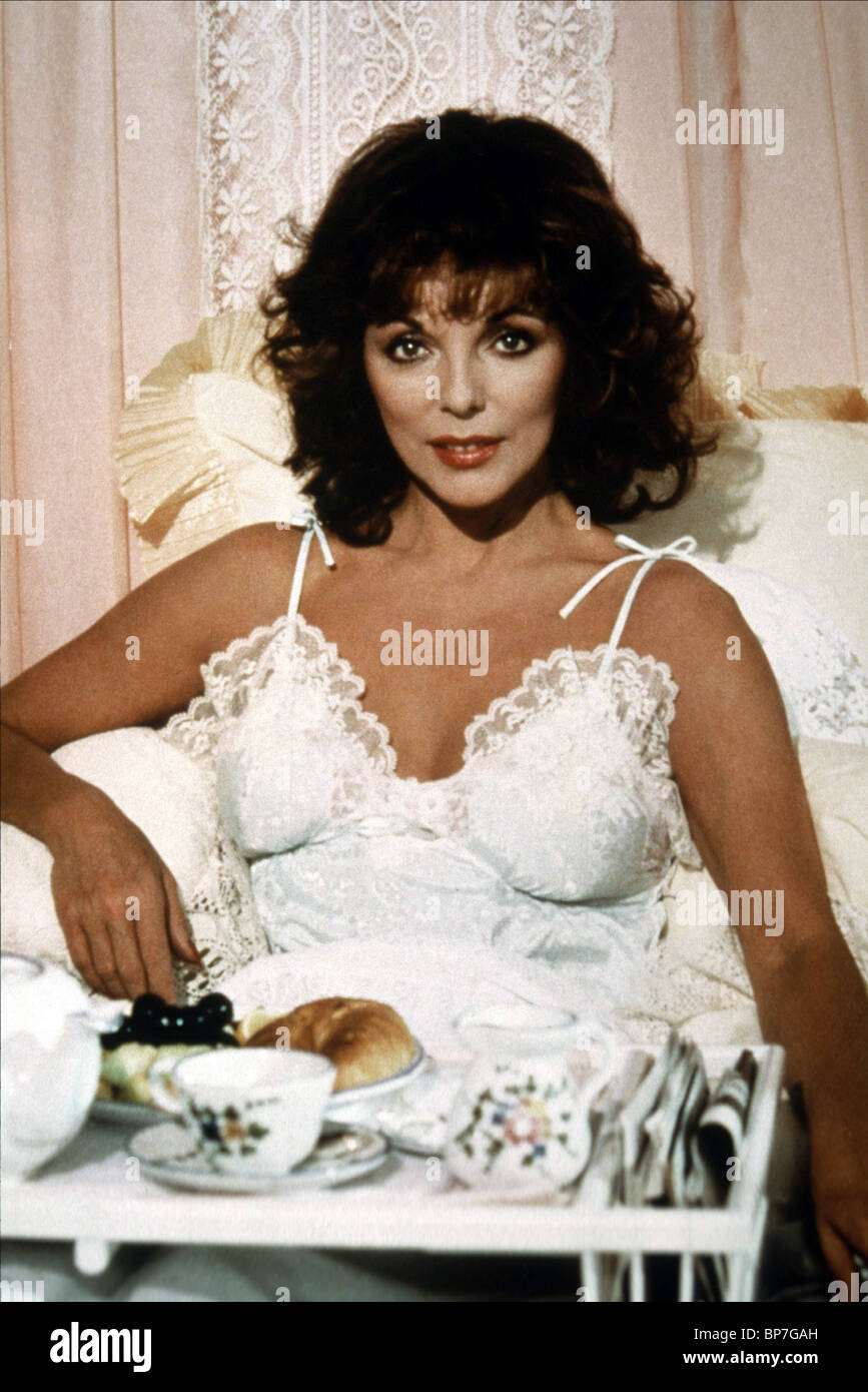 JOAN COLLINS DYNASTY (1981) - Stock Image