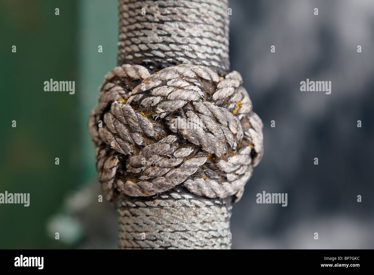 Examples of Nautical Rope Works - Stock Image