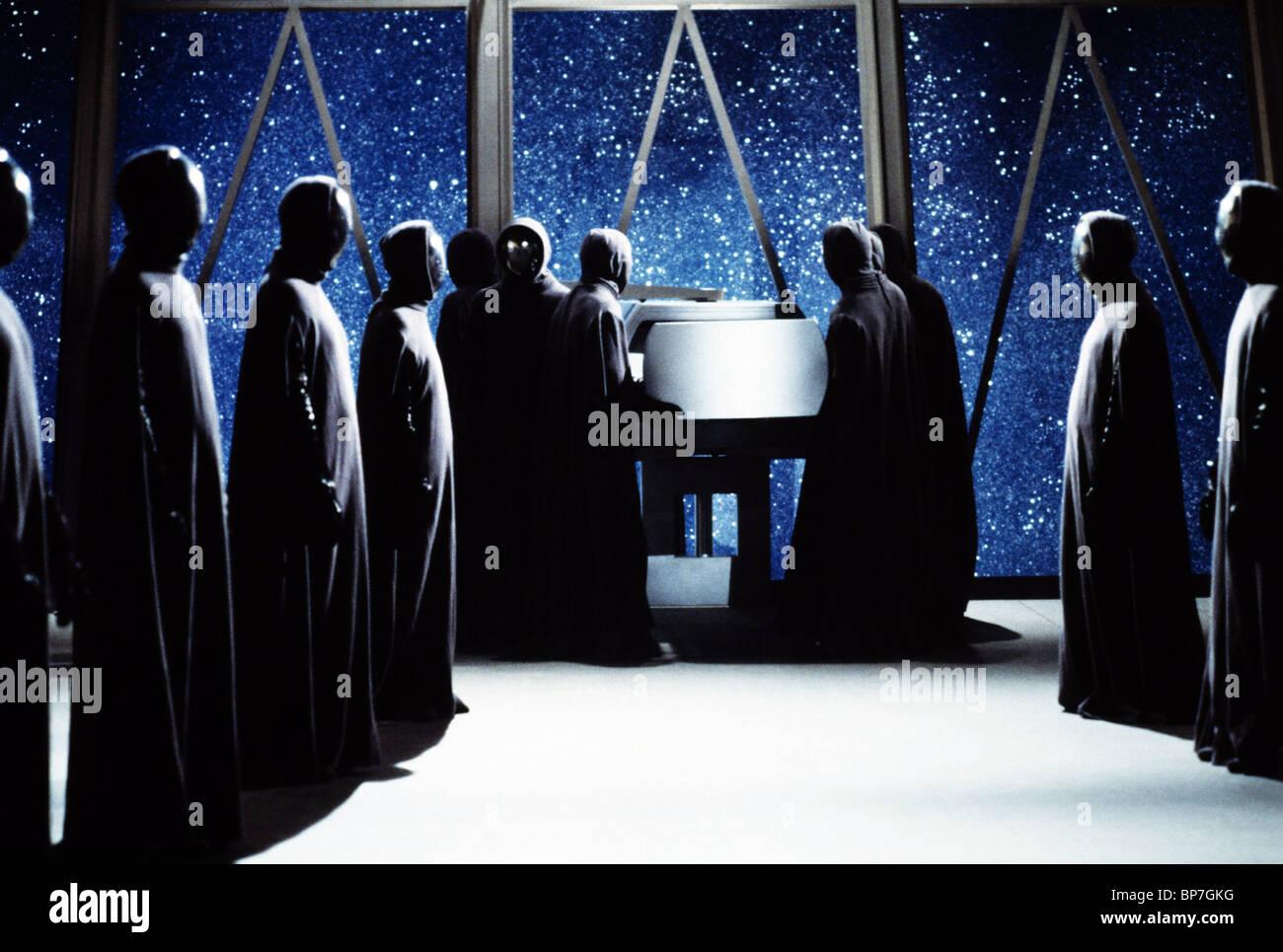 MOVIE SCENE THE BLACK HOLE (1979) - Stock Image