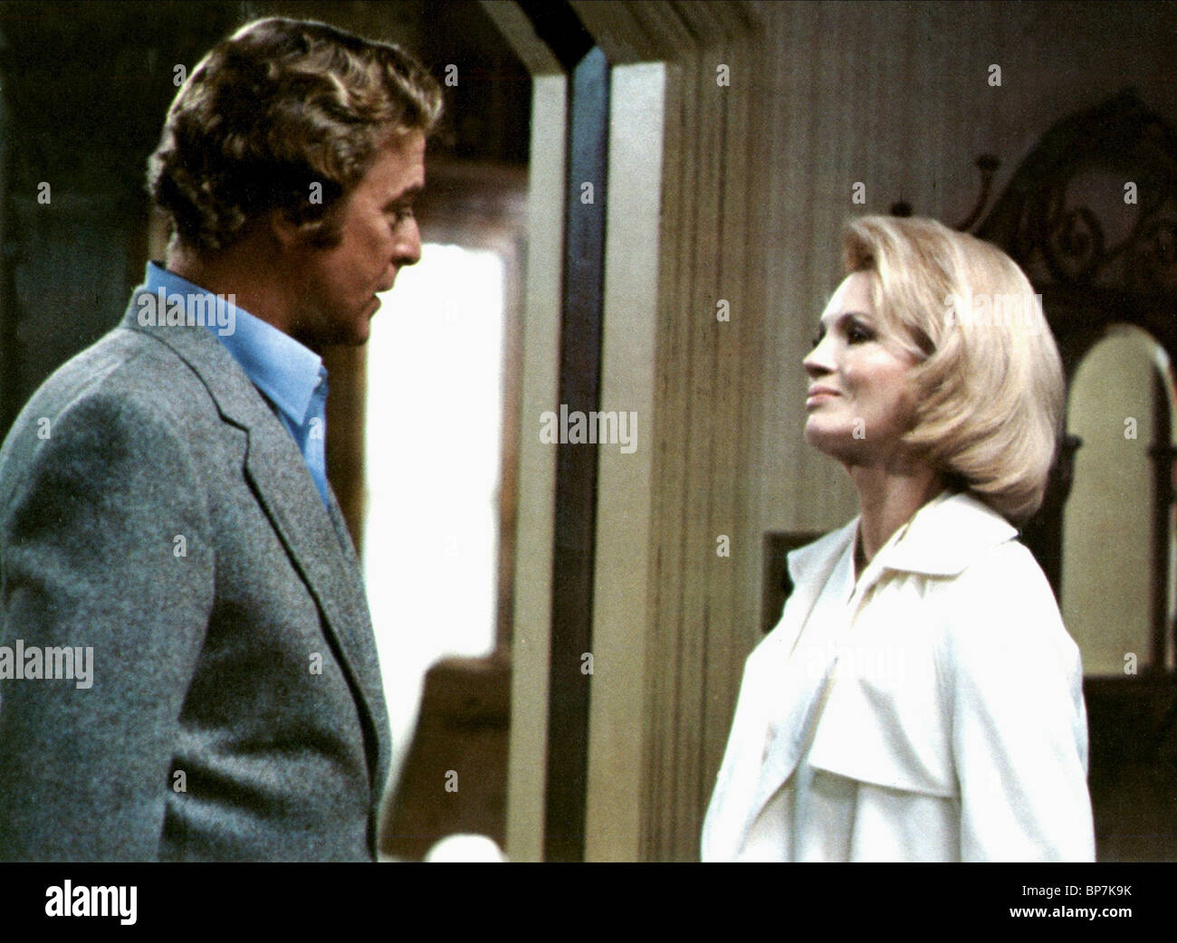 MICHAEL CAINE, ANGIE DICKINSON, DRESSED TO KILL, 1980 Stock Photo
