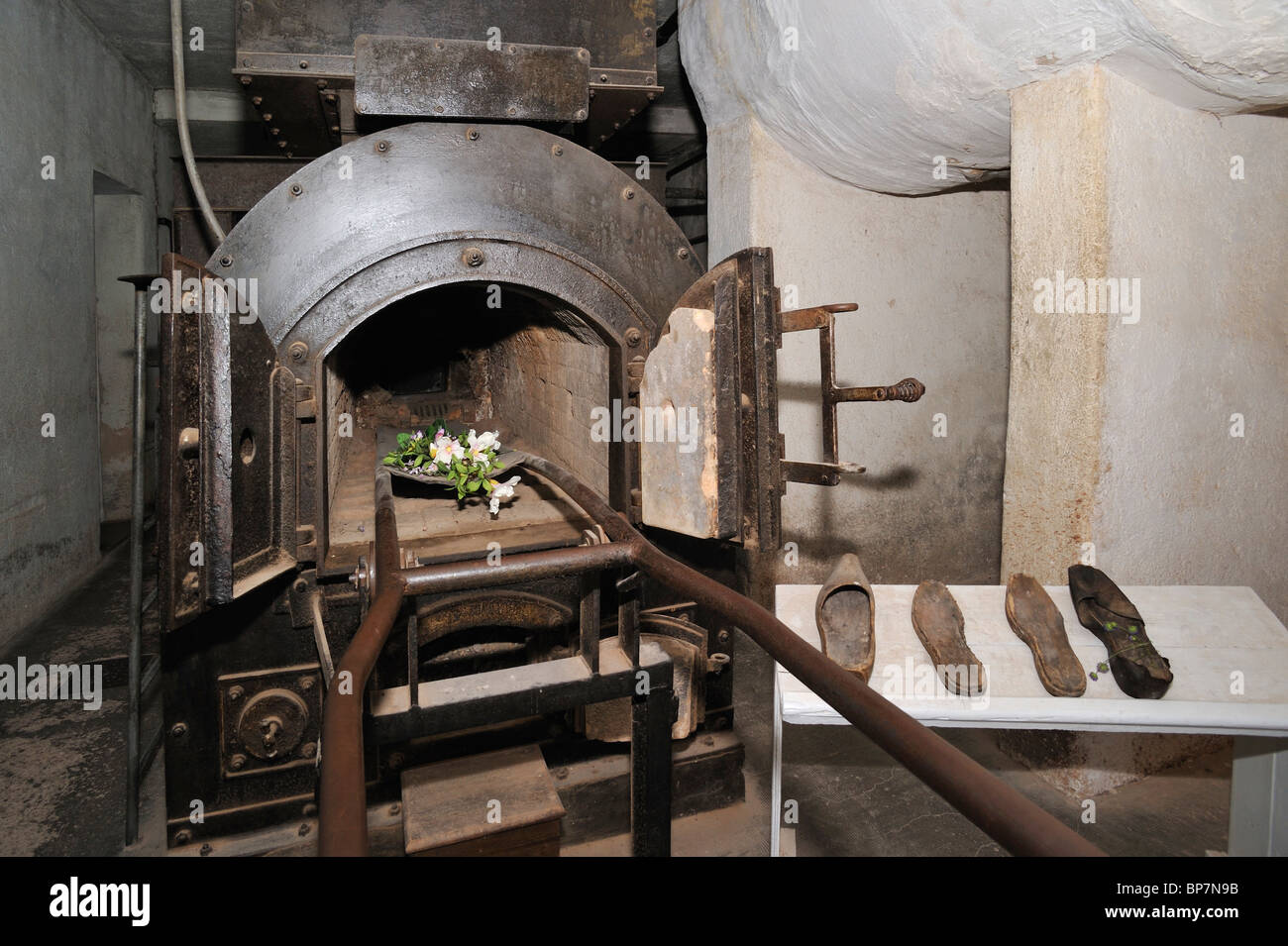 Crematorium at Natzweiler-Struthof, the only WW2 concentration camp established by the Nazis on French territory, - Stock Image