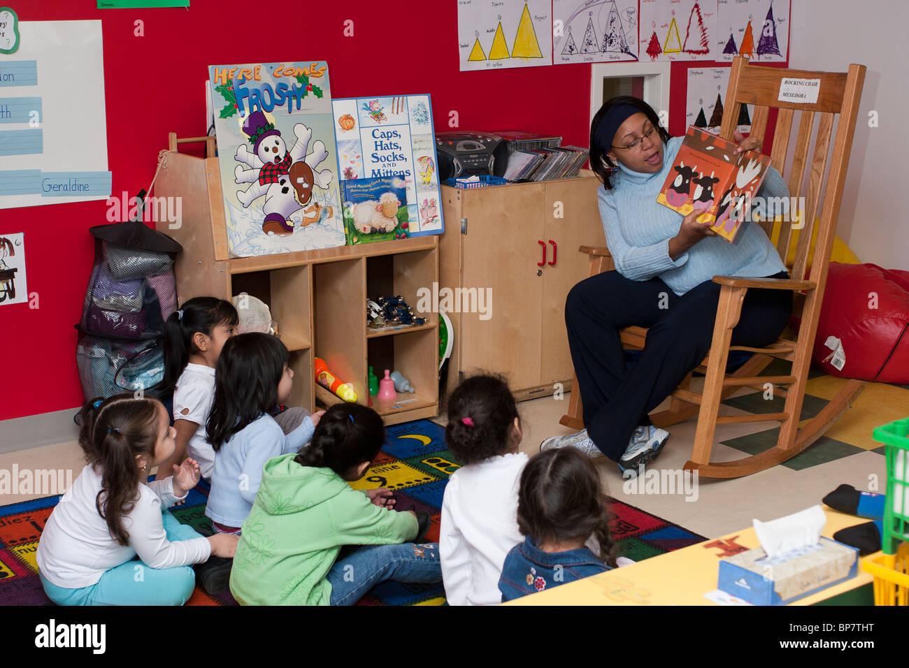 child reading playschool stock photos child reading playschool