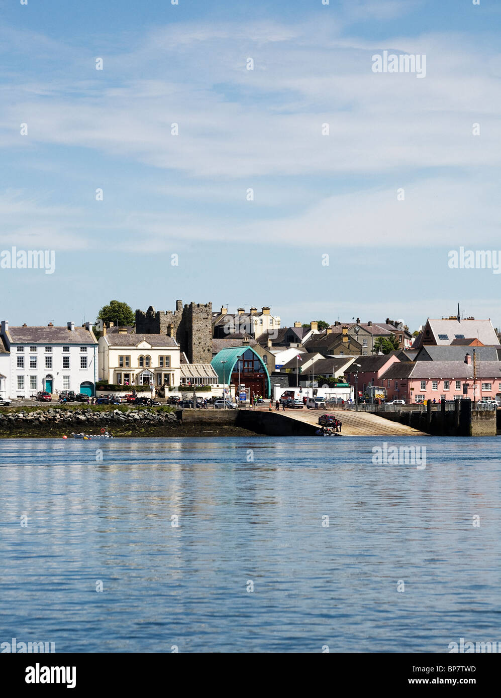 Portaferry, County Down, Northern Ireland - Stock Image