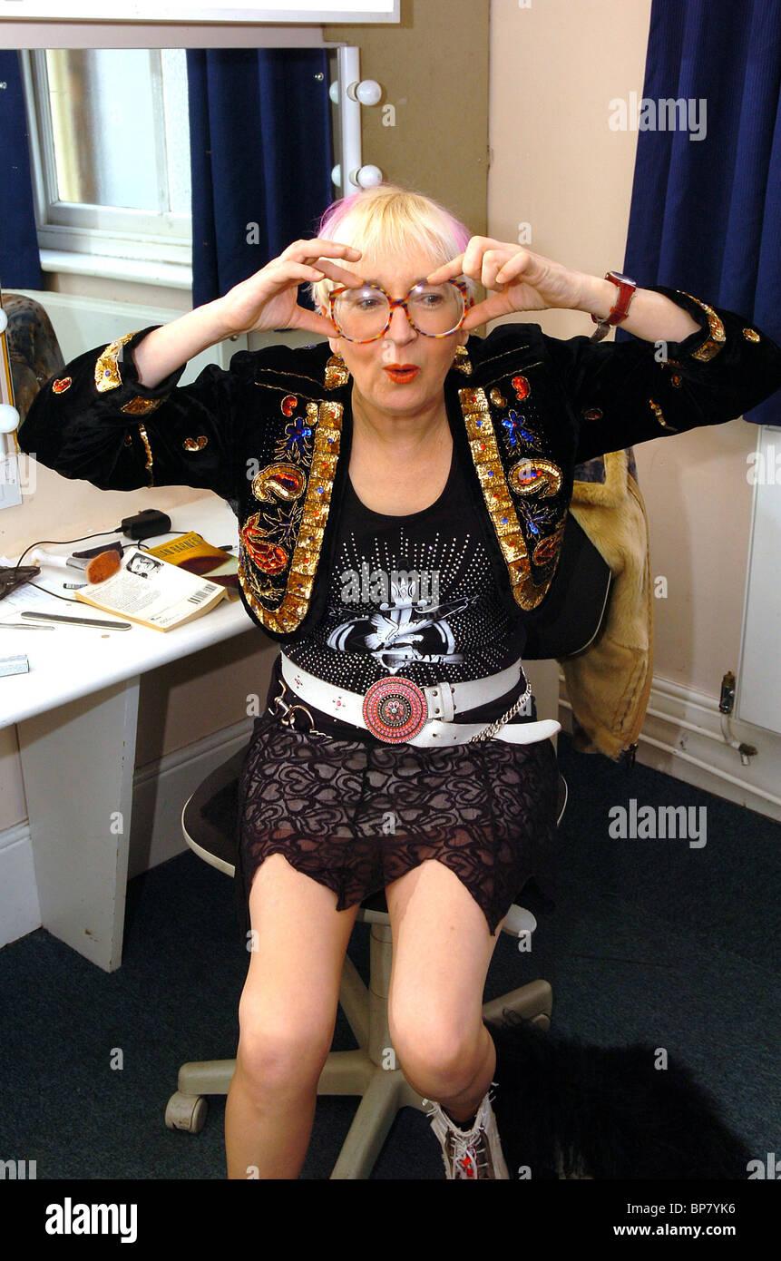 Sue Pollard at the Grand Theatre 29/3/06 - Stock Image