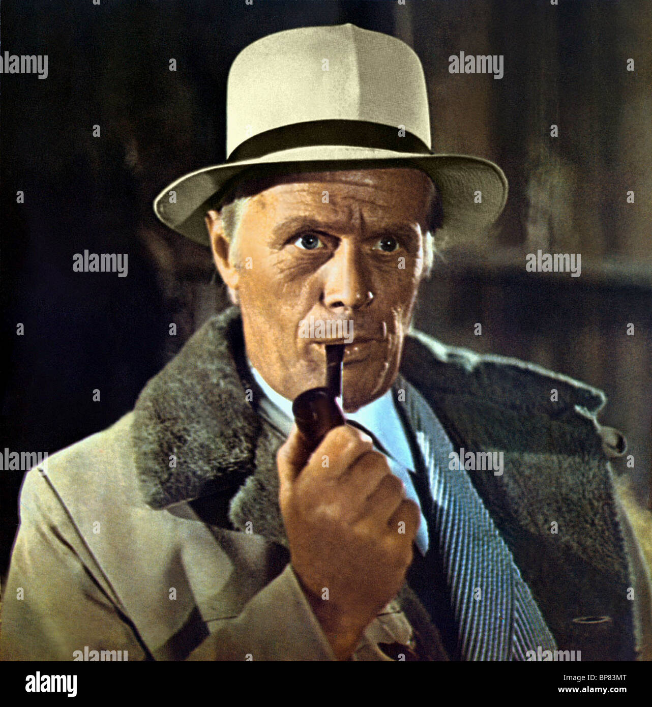 RICHARD WIDMARK THE MOONSHINE WAR (1970) - Stock Image