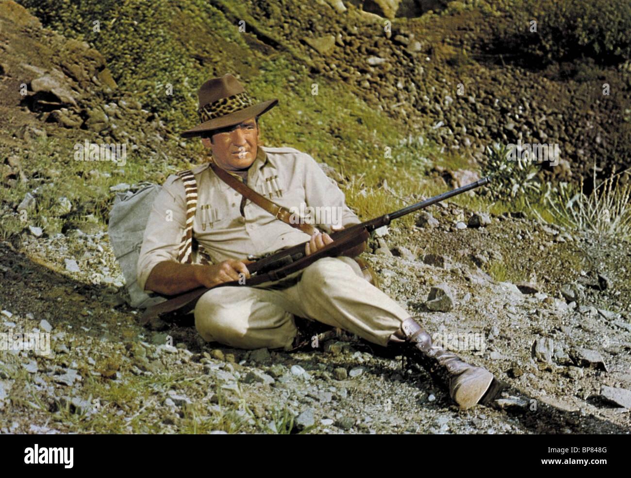 ROD TAYLOR TRADER HORN (1973) - Stock Image