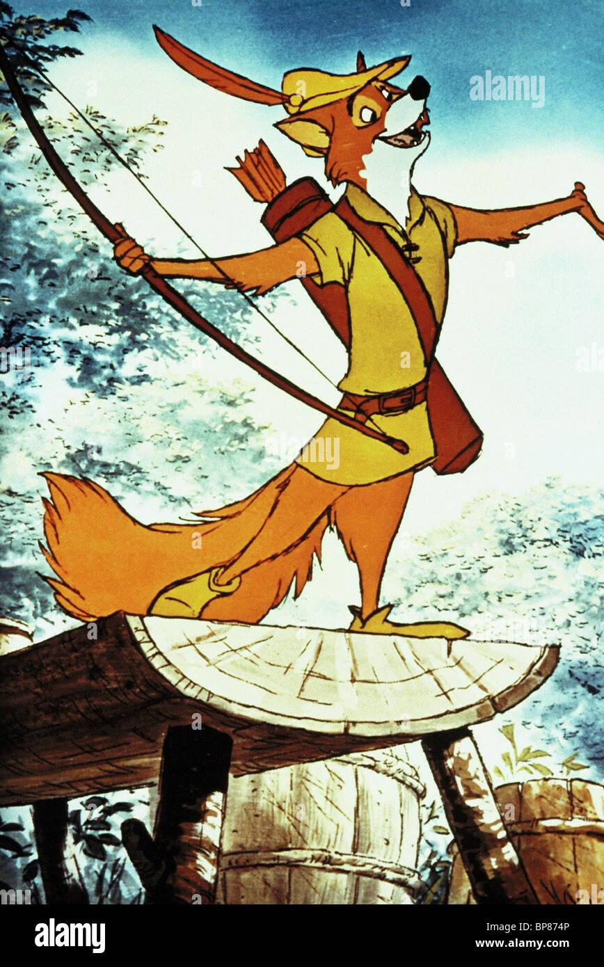 ROBIN HOOD FOX ROBIN HOOD (1973) - Stock Image