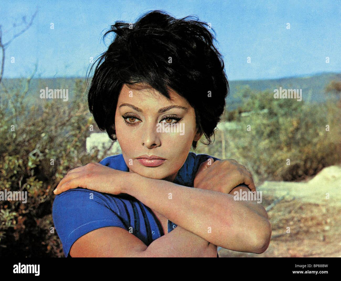 SOPHIA LOREN JUDITH; CONFLICT (1966) - Stock Image