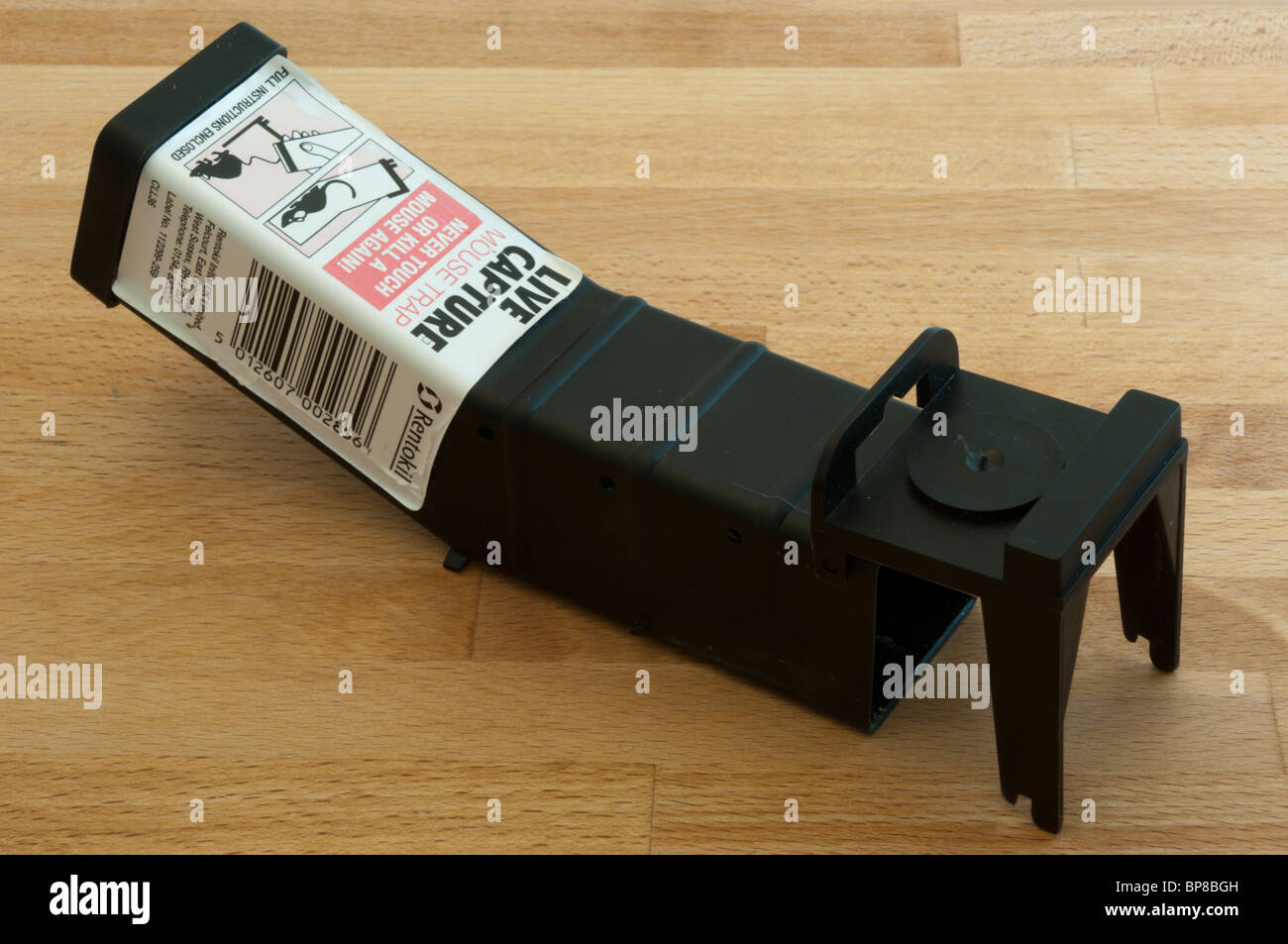 A humane mouse trap - Stock Image