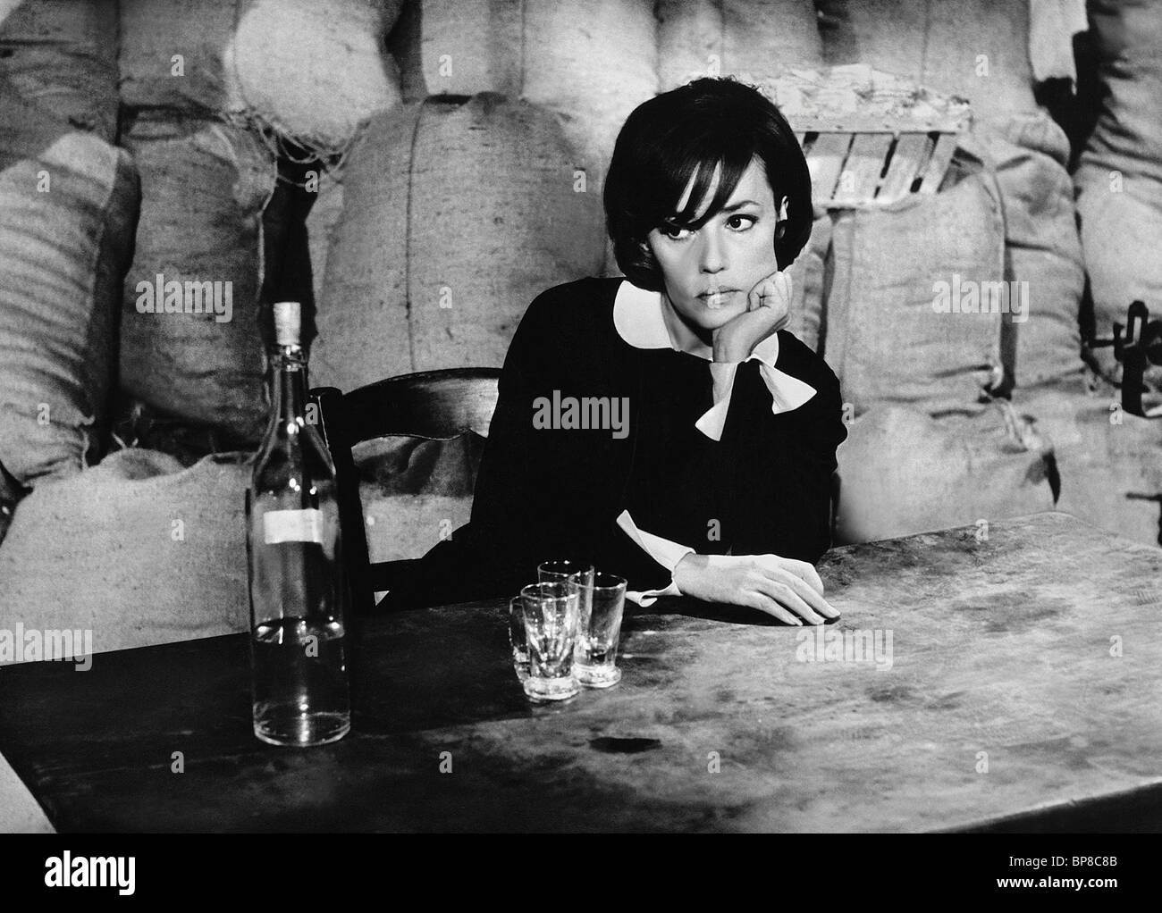 JEANNE MOREAU THE DIARY OF A CHAMBERMAID (1964) - Stock Image