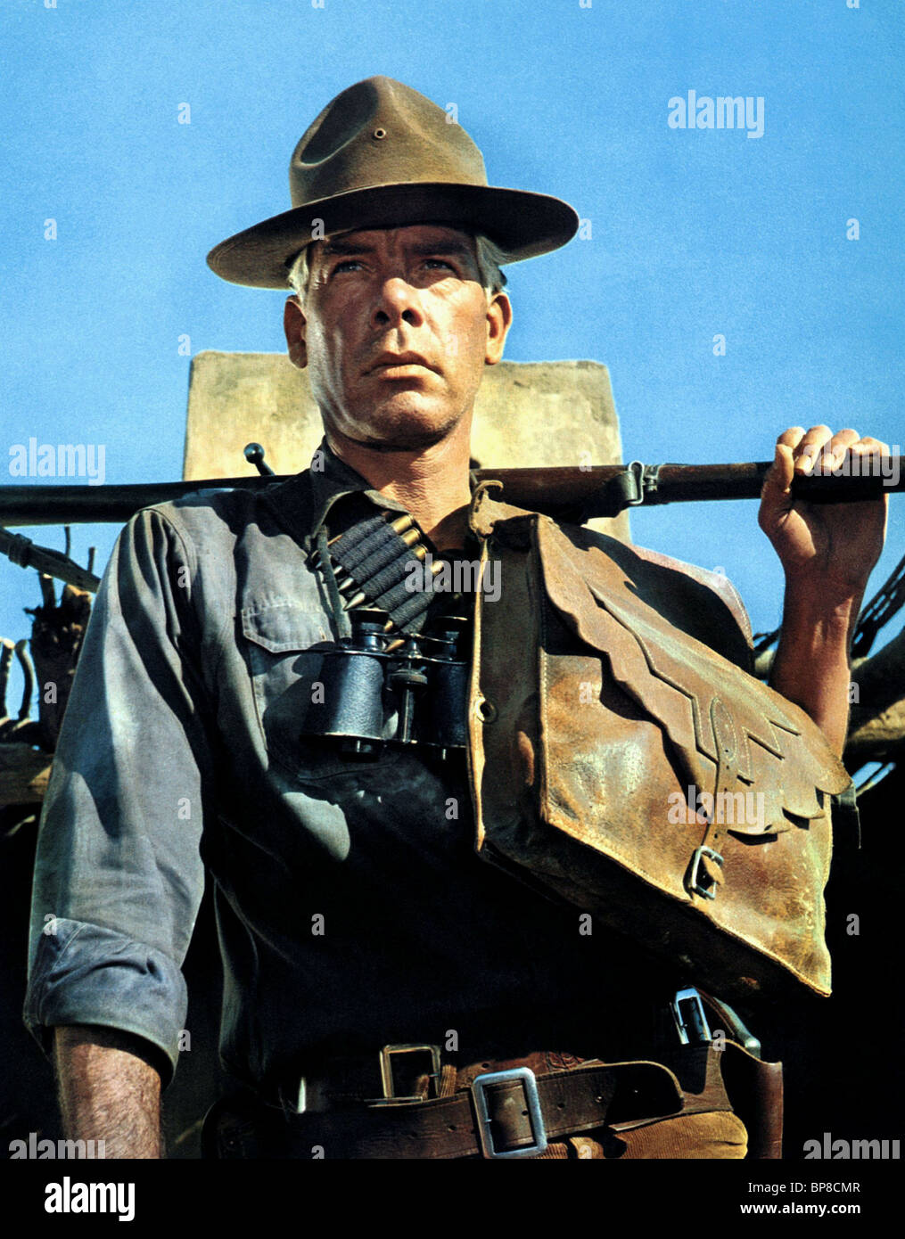 LEE MARVIN THE PROFESSIONALS (1966) Stock Photo