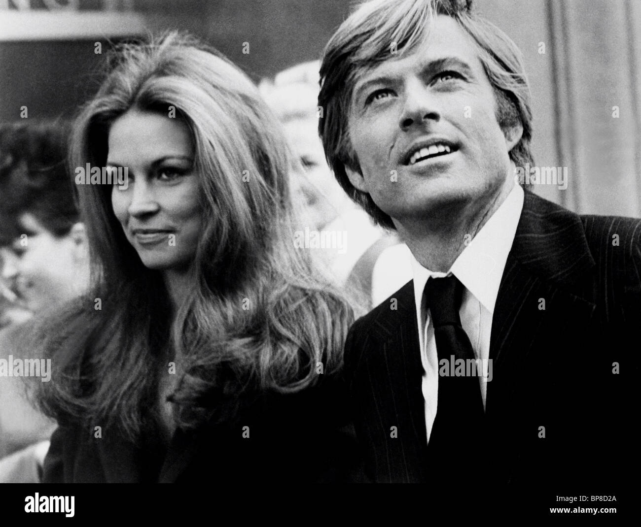 karen carlson robert redford the candidate 1972 stock photo