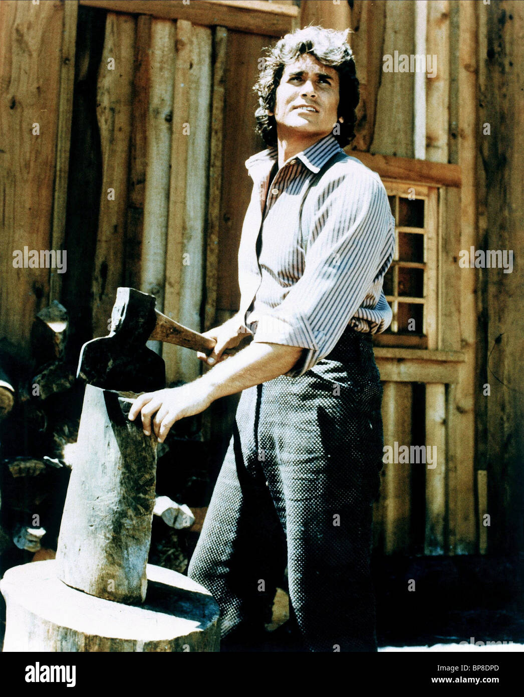 Michael landon little house on the prairie 1974 stock for The landon house