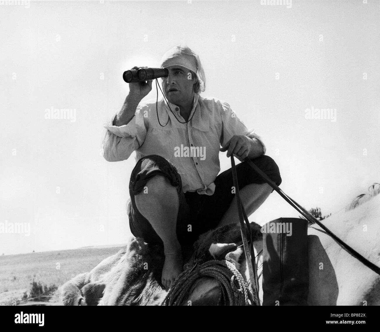MARLON BRANDO THE MISSOURI BREAKS (1976) - Stock Image