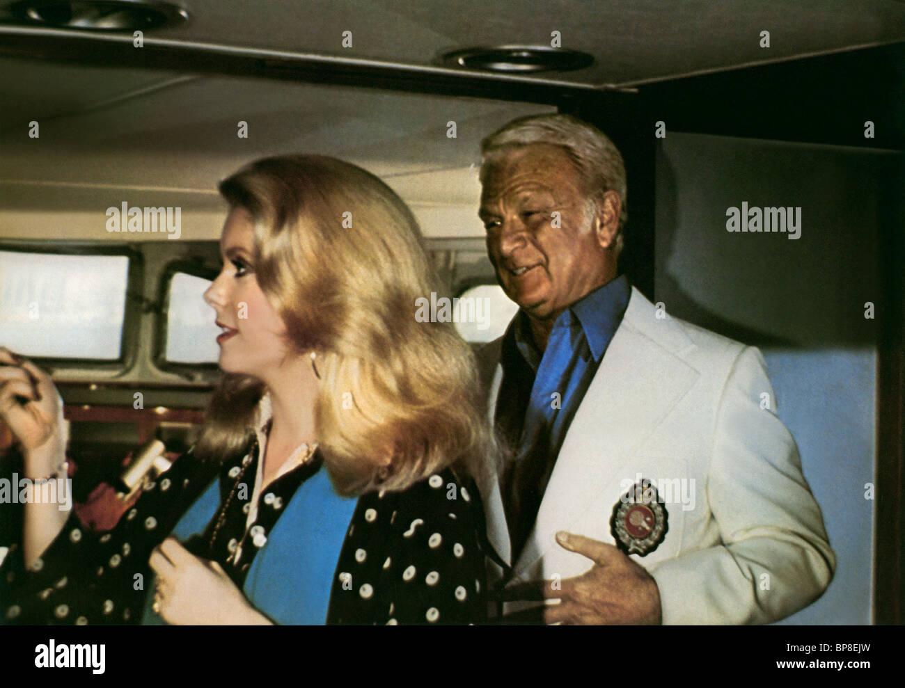 Catherine Deneuve Eddie Albert Hustle 1975 Stock Photo