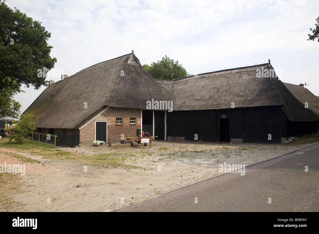 Oldest Farm Of Western Europe In The Village Anderen Drenthe Stock Photo Alamy