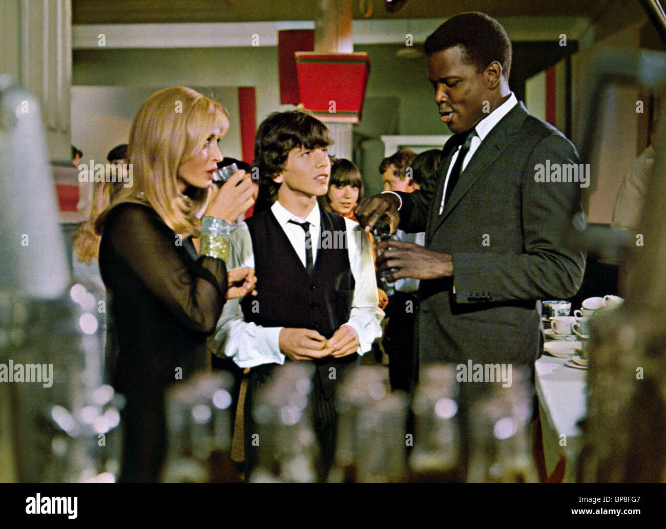 SIDNEY POITIER TO SIR WITH LOVE (1967) - Stock Image