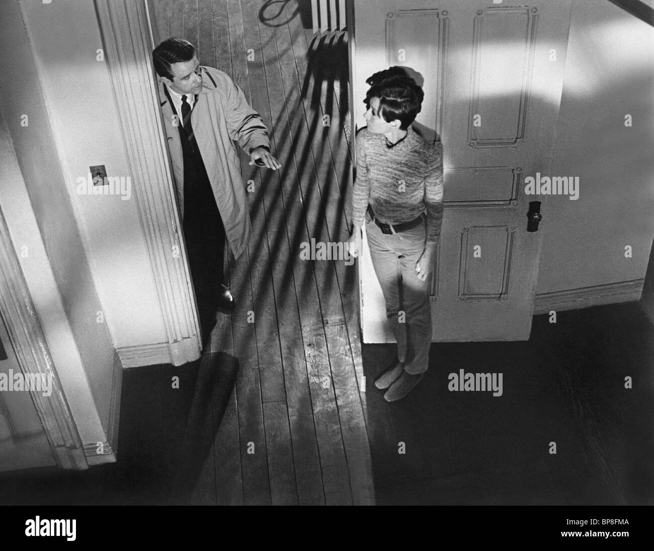 RICHARD CRENNA, AUDREY HEPBURN, WAIT UNTIL DARK, 1967 - Stock Image